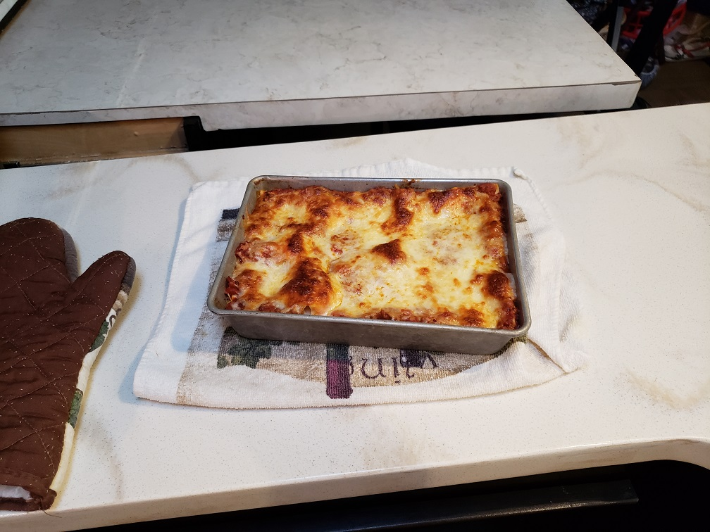 Lasagna Night