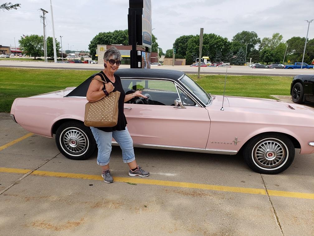 Little Pink Mustang